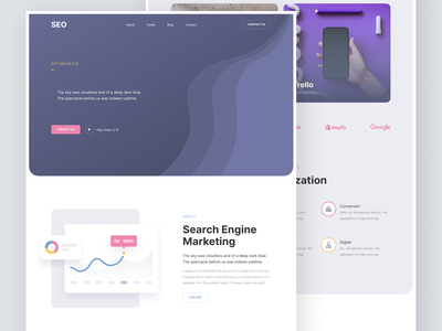 SEO Web Design ui design