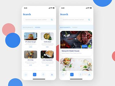 Fast Food Delivery App app ui design
