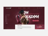 TEKKEN | JIN KAZAMA CHARACTER