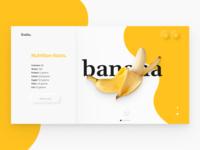 BANANA FRUIT - NUTRITIONAL