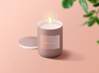 Sweet Melts - Wax Candle Mockup