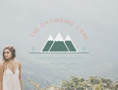 The Gathering Camp - Primary Logo