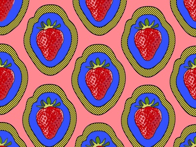 strawberry pop variation