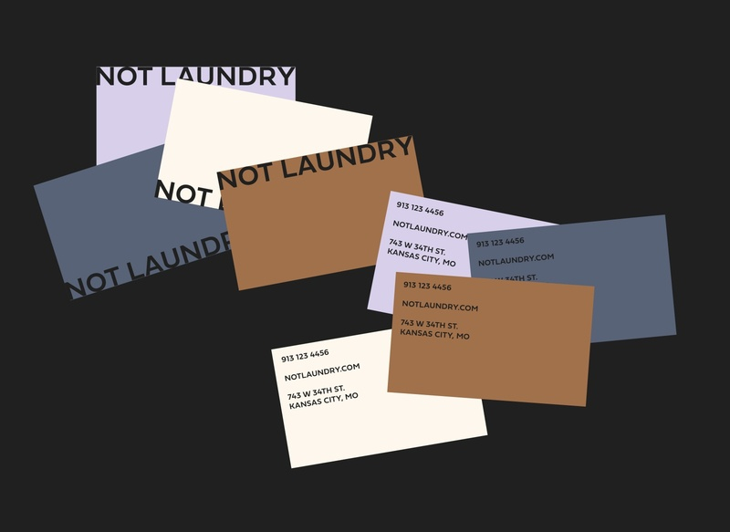 Not Laundry Business Cards