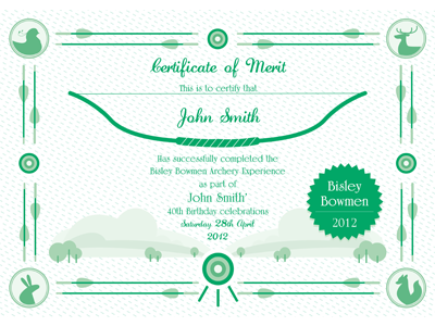 Certificate Artwork By Violawang design graphic icon certificate