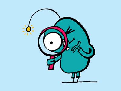 Sentio illustration character alien childrens book