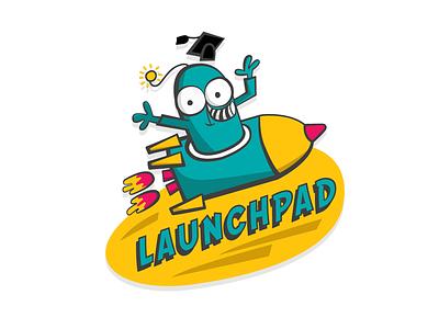 Launchpad Logo  children school alien education