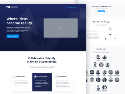 Startup OnePager