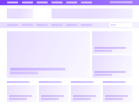 Wireframing News Portal