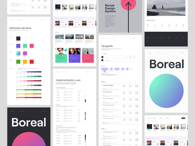 Boreal Design System figma boreal designsystem ui ux