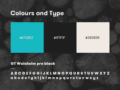 Colour Scheme art direction web design identity branding