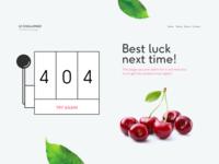 404 Page - WeeklyUI Challenge S02/W02