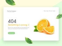 404 fruit store error page