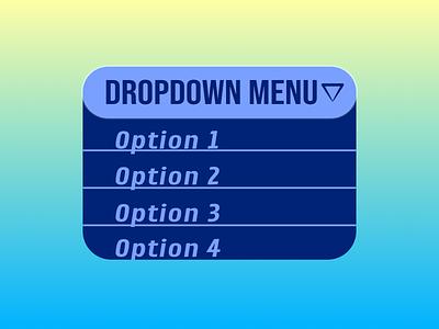 Dropdown Menu dropdown menu 027 dailyui
