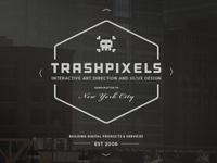 TrashPixels   Branding 2013/14