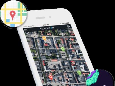 TRACKTOR – GPS TRACKING APP