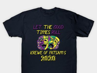 Mardi Gras Tshirt 2020