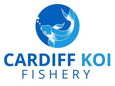 Cardiff koi Fishery logo fisherman fishing fishes flat logo koi bass fishing fishing logo fish icon tuna logo fresh fish fishery logo fishery logo fish logo koi fish logo koi fish