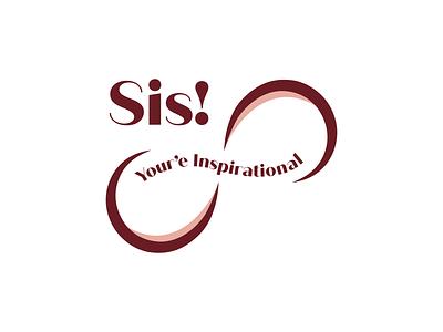Sis your inspirational logo branding typography logo logomaker clean logo modern logo inspirational logo business logo inspiration typography