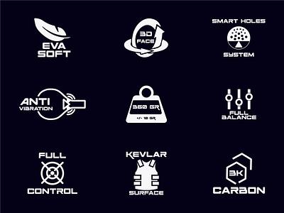 LOGO Collection: Miniamal & monograms - logo symbols & icons modern logo letter logo racket icon icons logo symbols flat minimal lettering letter mark monograms logo folio 2021