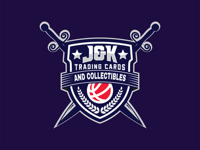 J & K Trading Cards Sports Logo treading logo card logo ball logo