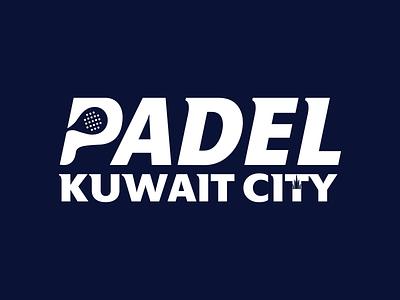 Padel Kuwait City Logo
