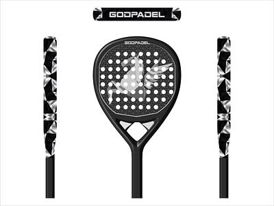 God Padel Design paddle padeldesign animalpadel