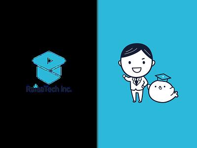 RaiseTech.Inc  symbo l& character caracter logo illustration