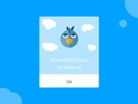 Blue Bird - Dialogue Alarm