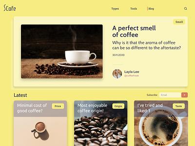 Blog Post- Main Page blog design blog post blog typography best practices designer creative ux website ui figma design