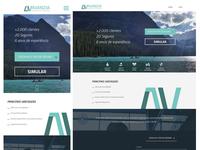 Mobile & Web Layout AV Seguros