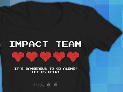 Impact Team - Zelda zelda shirt