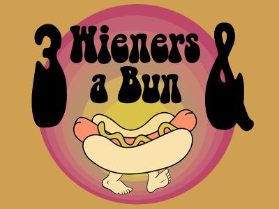 3 Wieners & A Bun shirt tshirt