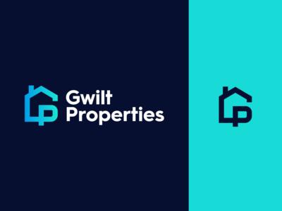 Gwilt Properties Branding housing house marque logo branding