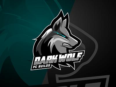 Dark Wolf PC Builds wolf logo logo gaming wolf