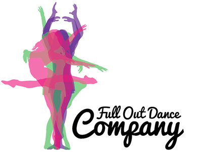 full out dance company logo by michael kennedy dribbble