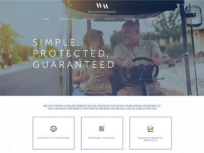 Wealth Management Resources Website management wealth design website