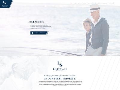 Lifesmart Financial Website advisor financial website
