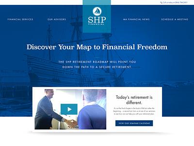 SHP Financial Website nautical website financial