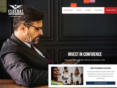Federal Retirement Website website advisor financial retirement federal