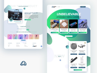 Shipped Pro an E-Commerce Electronic Store personal website design ui web ecommerce electronics store