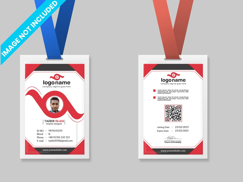 Employee Card / ID Card Template