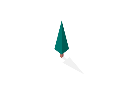 Smarch Trees principle illustrator spruce pop-up symbol isometry isometric pine software dribbble design motion vector illustration brand identity forest tree icon branding animation