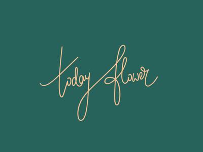 Today Flower Logotype