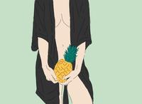 Pain Apple Green freelance woman woman illustration colorful flat digital illustration design digitalart fun vector illustrator illustration