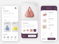 Fireat Shop minimal app design web ux shop app ui ui mobile design app