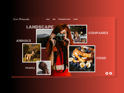 Photographer Portfolio Website Design