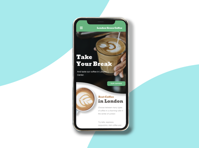 Cafe Mobile Design Project