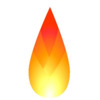 Woven Fire Drop