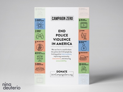 Campaign Zero Organization grid layout grid design typography print design layoutdesign layout design blacklivesmatter blm